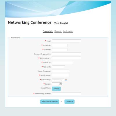 Event Registration Form Template Sample Registration Form 1