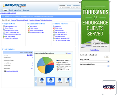 Swim Meet Software Swimming Event Management And